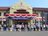 Polres Serang Bagikan Puluhan Paket Sembako untuk Wartawan