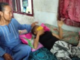 Tujuh Bulan Derita Leukemia, Amel Hanya Terbaring Menahan Sakit