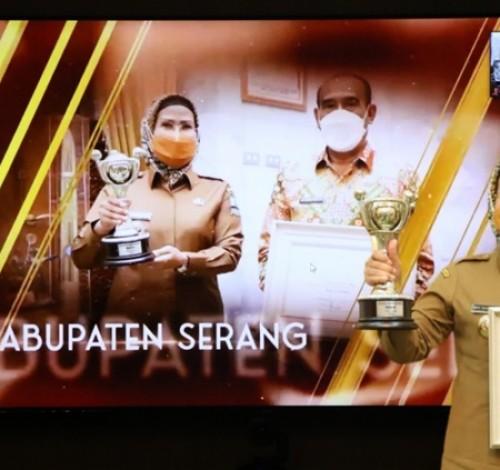 Pemkab Serang Raih Penghargaan APE 2020 Kategori Madya